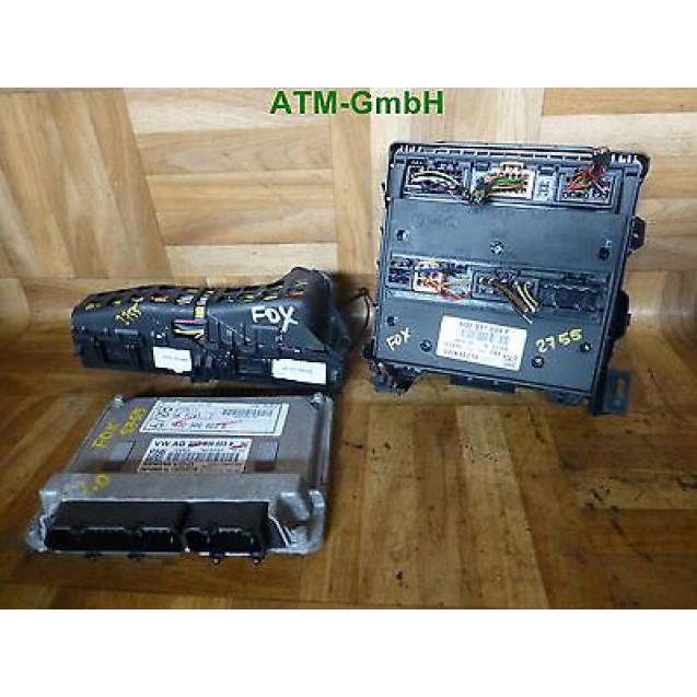 Motorsteuergerät Sicherungskasten  VW Fox 1,2i 03D906023B 6Q2937049F 5Z1971340DD