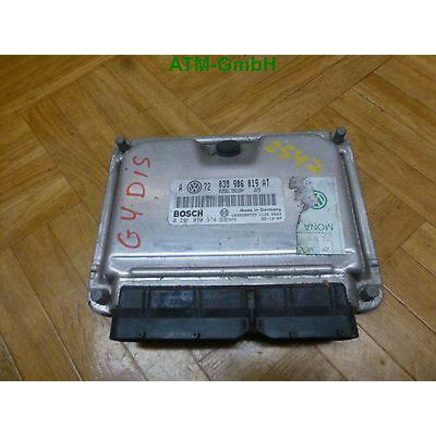 Motorsteuergerät Steuergerät VW Golf 4 IV 1,9 TDi 101 PS Bosch 0281010974