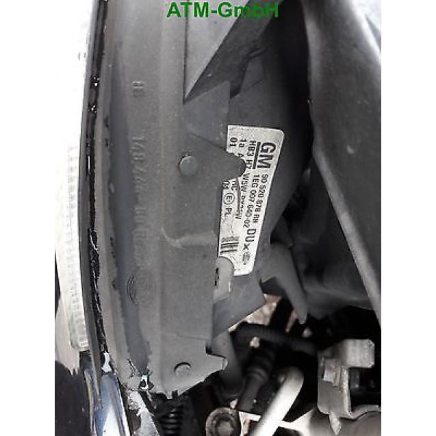 Frontscheinwerfer Scheinwerfer Opel Astra G rechts GM 90520878 RH Hella