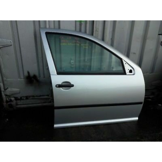 Tür VW Golf 4 IV 5 türig vorne rechts Farbcode LA7W Farbe Reflex Silber