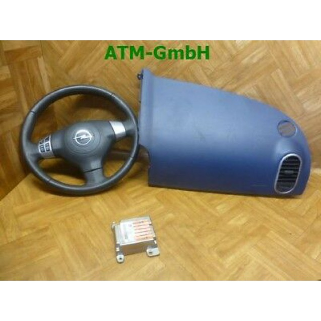 Seitensairbagmodul Lenkrad Armaturenabdeckung Steuergerät Opel Agila B
