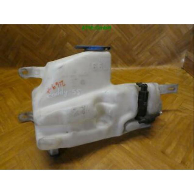 Waschwasserbehälter Behälter Wischwasserpumpe VW Caddy 6.6 L 2.7 L 6K0955453GA