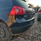 Stoßstange hinten VW Golf 5 V 3 türig Farbcode LA5G Farbe Perlblau Blau