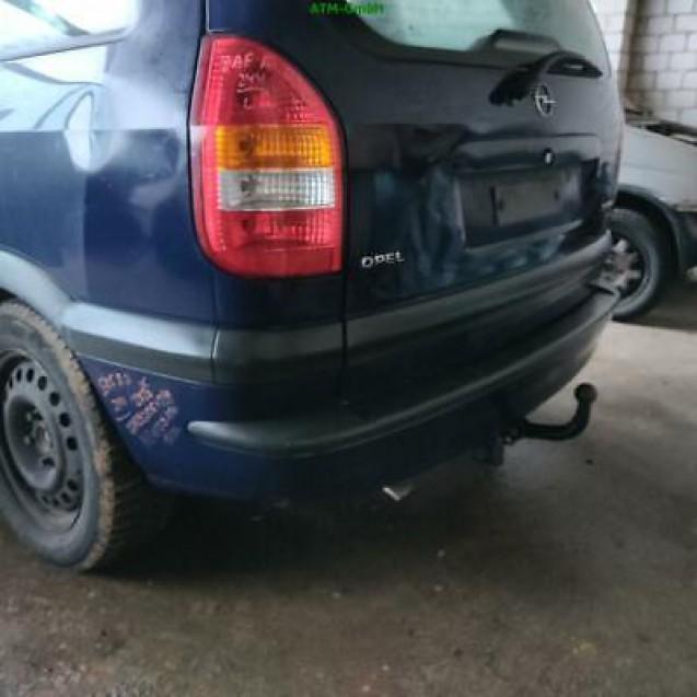 Stoßstange hinten Opel Zafira A Farbcode Y269 Farbe Königsblau Blau