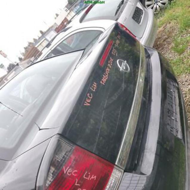 Heckklappe Opel Vectra C Stufenheck Farbcode Z20R Saphirschwarz Perleffekt