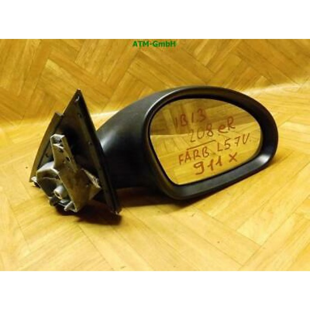 Seitenspiegel Seat Ibiza 3 III Farbcode LS7U Grau Gris Sombra Metallic rechts