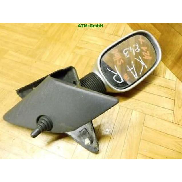 Außenspiegel Seitenspiegel Ford KA rechts mechanisch Silber Beifahrerseite