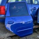 Tür hinten rechts Mitsubishi Colt 6 VI 5 türig Farbcode 08H Metallic Blau