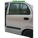 Tür Chevrolet Matiz 5 türig hinten links Farbcode 92U Polysilber Silber Metallic