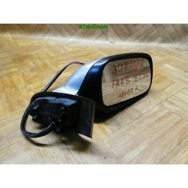 Seitenspiegel Peugeot 307 rechts Farbcode ETSC Farbe Gris Gendre Metallic
