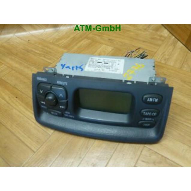 Bordcomputer Display Anzeige Toyota Yaris Matsushita 86110-52021B0 358202