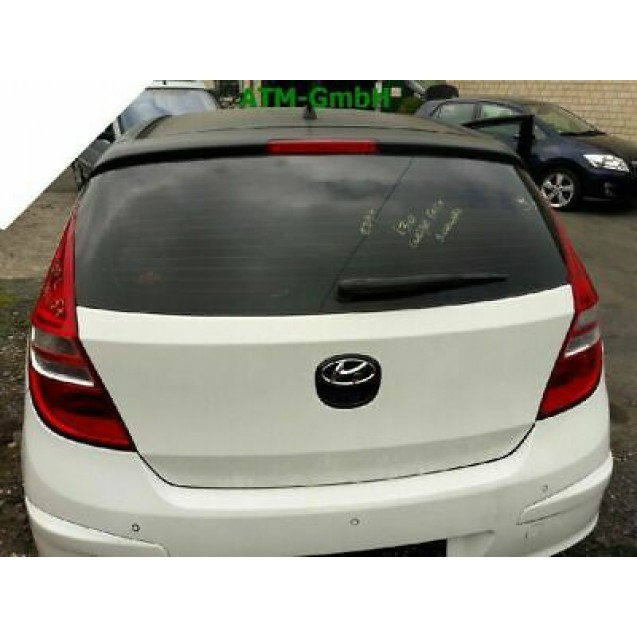 Heckklappe Hyundai i30 5 türig Farbe Schwarz - WEISSE FOLIE getönt