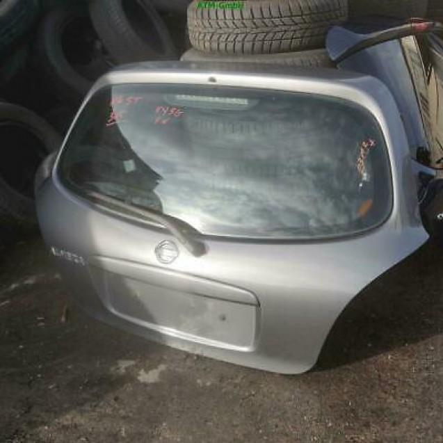 Heckklappe Nissan Almera N16 5 türig Farbcode KY5 G Techno Grey Metallic