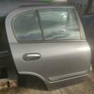 Tür hinten rechts Nissan Almera N16 5 türig Farbcode KY5 G Techno Grey Metallic