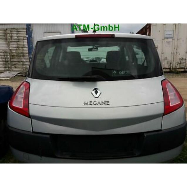 Heckklappe Renault Megane 2 5 türig Farbe NV632 Gris Boreal Polar Grau Metallic