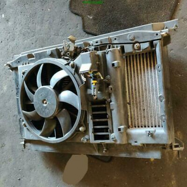 Wasserkühler Lüfter Gebläsemotor Peugeot 307cc Valeo 9680354280-02 Aksys