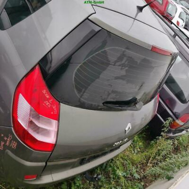 Heckklappe Renault Megane Scenic II Farbcode NV603 Gris Hologram Metallic