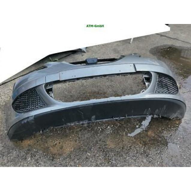 Stoßstange vorne Seat Altea Farbcode LW7Y Farbe Delfingrau Grau Metallic