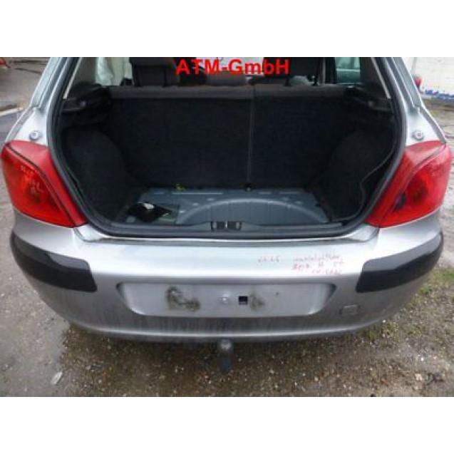 Heckklappe Peugeot 307 5 türig Farbcode EZAC Farbe Grau
