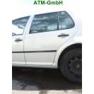 Tür hinten links VW Golf 4 IV 5 türig Farbcode LB7Z Platinsilber Silber