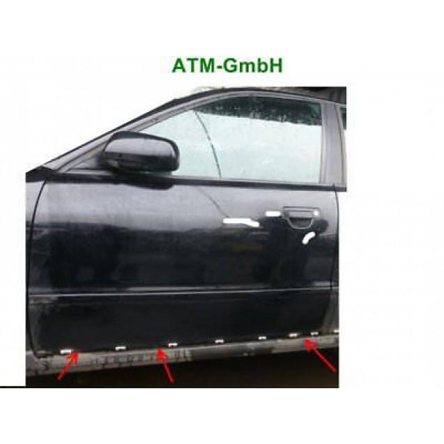 Tür vorne links Audi A4 Farbcode LY9B Brilliant Schwarz