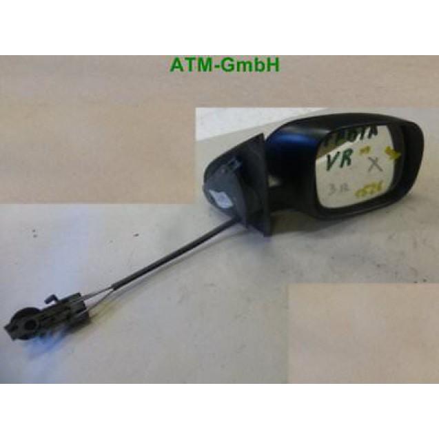 Außenspiegel Seitenspiegel mechanisch rechts unlackiert Skoda Fabia 012659