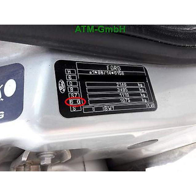 Tür Ford Mondeo 3 III Kombi hinten rechts Farbcode 60 Kristallsilber