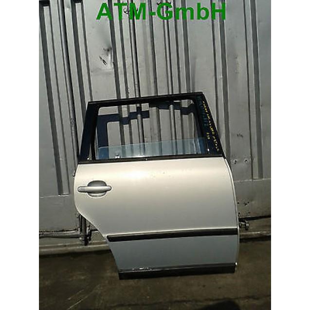 Tür hinten rechts VW Passat B5 Farbcode LB7Z Farbe Satinsilber Silber Metallic
