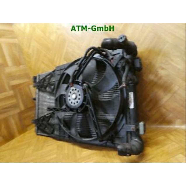 Wasserkühler Kühler Gebläsemotor mit Klima VW Polo 9N 1.4 TDI 55 kW 6Q0121253S