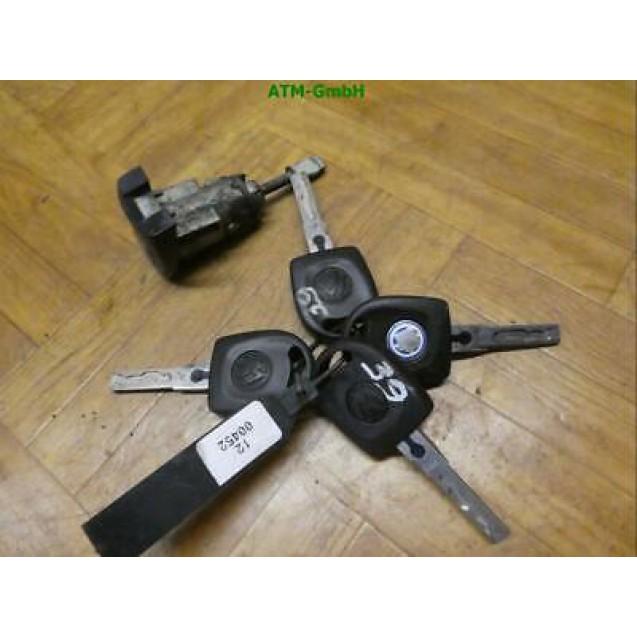 Schloss VW Golf 4 IV unlackiert Schlüssel x 4 Stück
