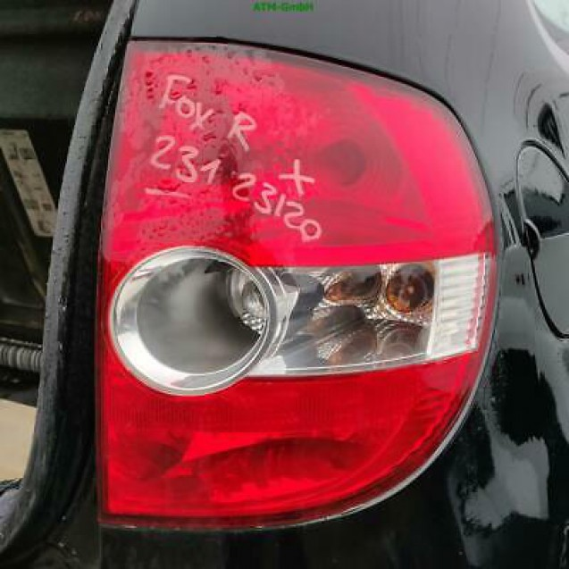 Bremsleuchte Rücklicht Rückleuchte Bremslicht VW Fox rechts Beifahrerseite
