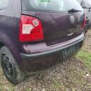 Stoßstange hinten VW Polo 9N 3 türig Farbe Rot