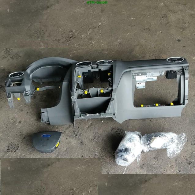 Armaturenbrett Ford Focus 2 II Aribagmodul Steuergerät Gurt rechts links