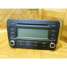 Autoradio KFZ Auto Radio CD Player RCD VW Golf Plus GRO 5M0035186A