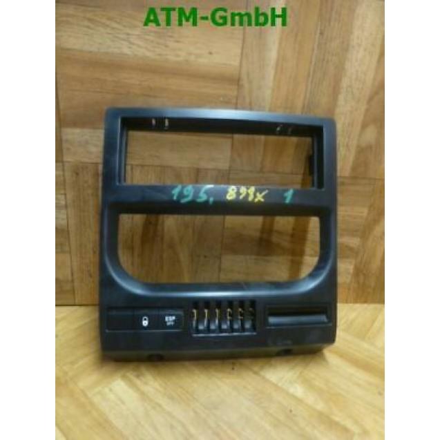 Blende Verkleidung Radio Abdeckung Schalterblock ESP ZV Peugeot 1007 9647541477